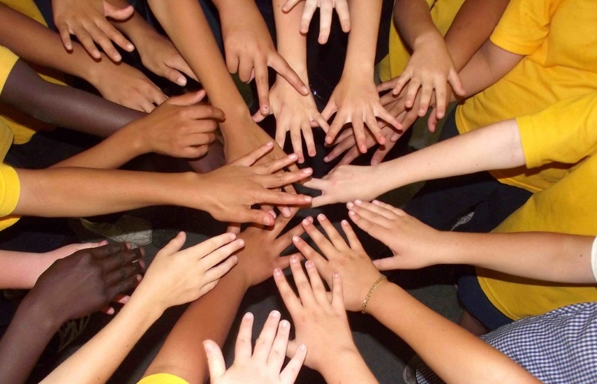 Hands Uniting - multicultural